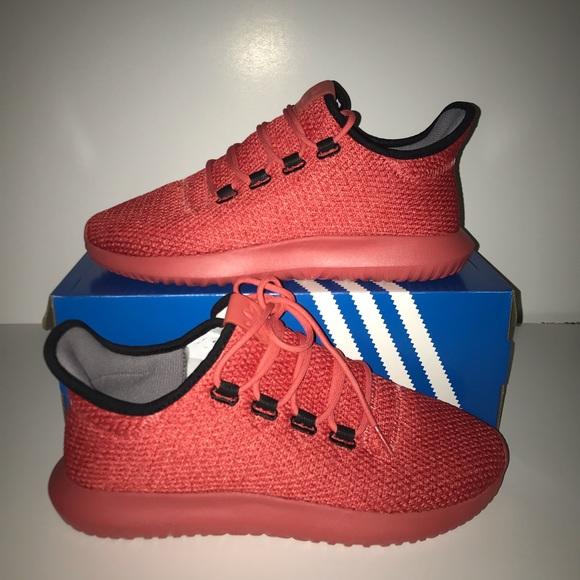 reputable site 26bed 0b2a8 Adidas Tubular Shadow RED NWT